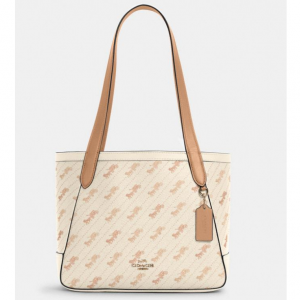 65% off Coach Horse And Carriage Tote 27 With Horse And Carriage Dot Print @ Coach Outlet