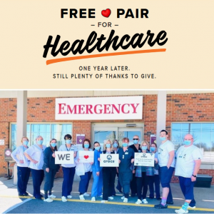 Crocs US - Free Pairs of Shoes for Healthcare Workers