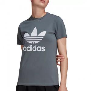 Macy's官網 adidas Originals Trefoil Logo 女士藍色T恤6折熱賣