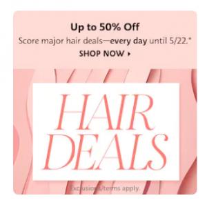 Daily Hair Sale @ Sephora