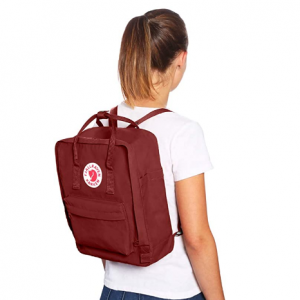 25% off Fjallraven, Kanken Classic Backpack for Everyday, Deep Red @ Amazon