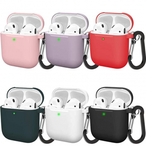 $4 off BMBMPT Upgraded AirPods Case for AirPods 2 & 1, 6 Pack @Amazon