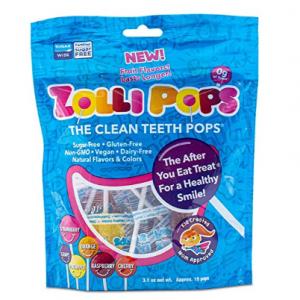 Zollipops 混合口味木糖醇棒棒糖,15支 @ Amazon