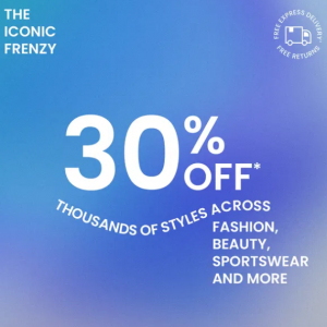THE ICONIC FRENZY 精選時尚、美妝、運動產品限時促銷