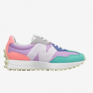 Eastbay官网 New Balance 327 女款复古休闲跑鞋热卖 两色可选