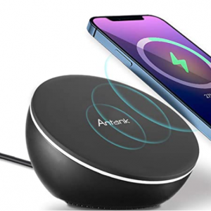 Antank Magnetic Wireless Charger Compatible with iPhone 12 series @Amazon