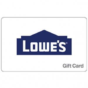 9折!限今天:Lowe's $50電子禮卡 郵件送達 @ Newegg