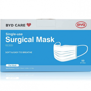 BYD CARE Face Mask Sale @ Amazon