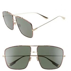 79% Off Dior Monsieur2 64mm Oversize Aviator Sunglasses @ Nordstrom Rack