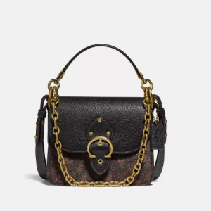 40% Off COACH Horse and Carriage Coated Canvas Beat Shoulder Bag 18 @ Macy's