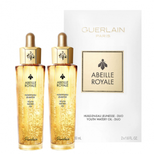 New! GUERLAIN Abeille Royale Anti-Aging Youth Watery Oil Duo Set @ Neiman Marcus