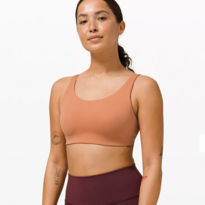 43% Off In Alignment Straight Strap Bra Light Support, C/D Cups @ lululemon