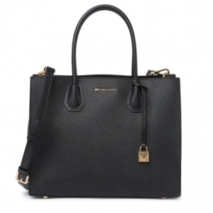 52% OFF MICHAEL KORS Mercer Large Saffiano Leather Accordion Tote Bag
