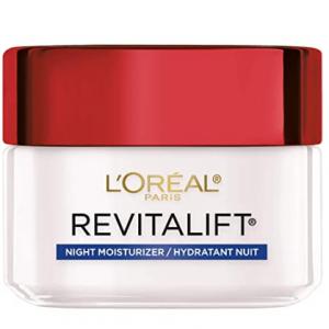 $6.39 (Was $17.99) For L'Oreal Paris Revitalift Anti-Aging Night Cream 1.7oz @ Amazon