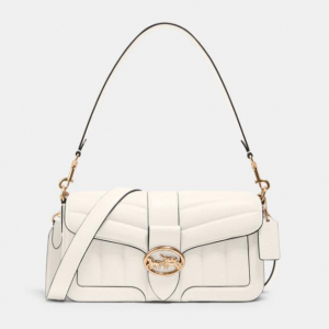 60% Off Coach Georgie Shoulder Bag With Quilting @ Coach Outlet