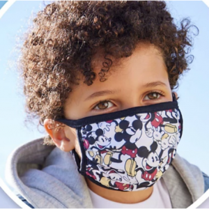 Disney Cloth Face Masks @ shopDisney
