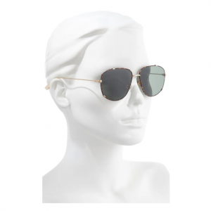 Nordstrom Rack官网 Dior Monsieur3 56mm飞行员太阳镜2.3折热卖