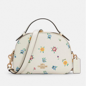 70% Off Coach Serena Satchel With Wild Meadow Print @ Coach Outlet