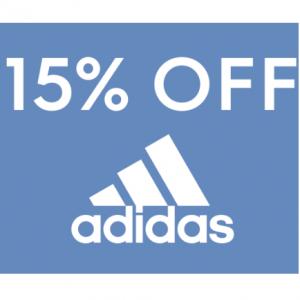 15% off adidas @ Famous Footwear