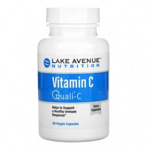 Lake Avenue Nutrition, 维生素 C,Quali-C,1,000 毫克,60 粒素食胶囊 @ iHerb