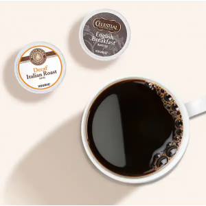 Keurig 咖啡、茶类、热可可等胶囊饮品7.5折促销