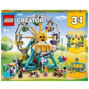 LEGO Creator Ferris Wheel Construction Toy (31119) @ Zavvi