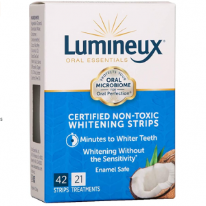 Lumineux Teeth Whitening and Fresh Breath Oral Care @ Amazon