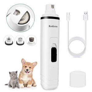 Rodzon 专业 2 速可充电宠物指甲修剪器 @ Amazon