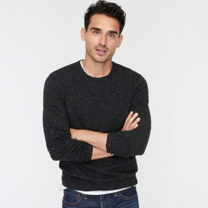 Extra 30% Off Cashmere Donegal Sweater @ J.Crew