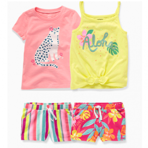 $5+ Tops, Shorts & One Piece @ Carter's
