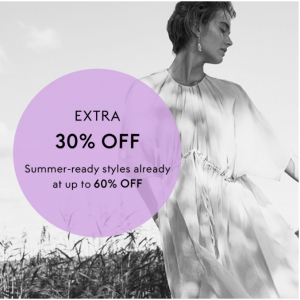 Extra 30% Off Select Items Sale @ THE OUTNET US