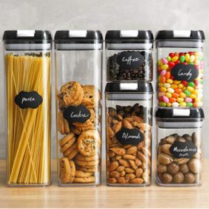 BASSTOP 多功能食物密封保鮮罐6件套 送標簽紙和馬克筆 @ Amazon