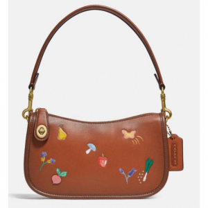 30% off Swinger Bag With Garden Embroidery @ Coach