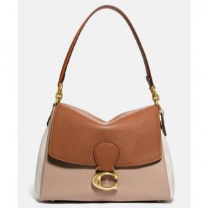 May Shoulder Bag In Colorblock @ Coach