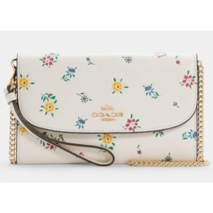 70% off Gemma Clutch Crossbody With Wild Meadow Print @ COACH Outlet