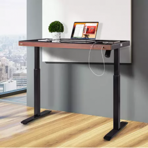 """Seville Classics AirLift 48"""" Tempered Glass Electric Sit-Stand Desk @ Sam's Club"""