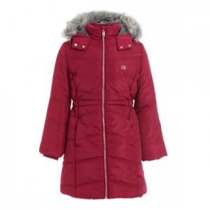 80% Off Calvin Klein Toddler Girls Aerial Hooded Jacket @ Macy's
