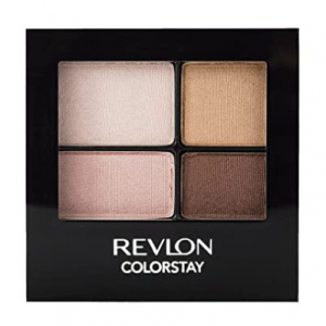 Revlon ColorStay 16 Hour Eyeshadow Quad with Dual-Ended Applicator Brush @ Amazon