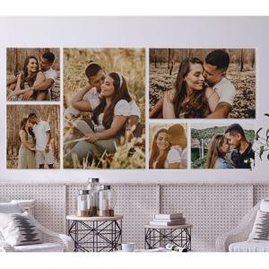 "16""x20"" Custom Canvas Photo Print (Unframed): 1 for $17.93 @ CanvasChamp.com"