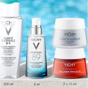 20% off everything + receive Up To 7-piece Gift ($88-value) +  Free Full-size Sunscreen @Vichy CA