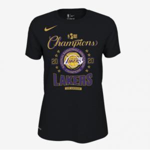 Champs Sports官網 Nike NBA Locker Room 洛杉磯湖人隊冠軍總決賽女士T恤7.1折熱賣