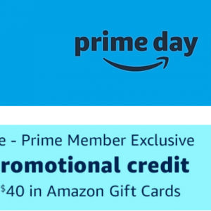 Get $10 Credit with Purchase $40 Amazon Gift Card @Amazon