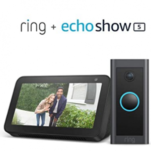 Amazon -Ring智能門鈴 + Echo Show 5智能可視化音箱,4.6折