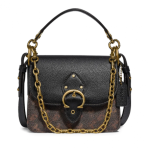 Coach Beat Horse & Carriage Coated Canvas & Leather Shoulder Bag Sale @ Saks Fifth Avenue