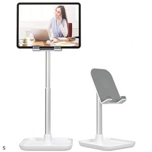 50% off Licheers Height Angle Adjustable Phone Stand for Desk Tablet Stand Holder @Amazon
