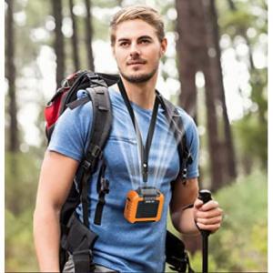 OPOLAR 掛脖掛腰便攜式風扇 可作充電寶 貼身小空調 @ Amazon
