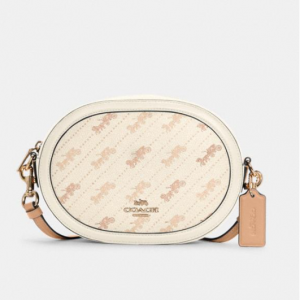 70% Off Coach Camera Bag With Horse And Carriage Dot Print @ Coach Outlet