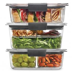 Rubbermaid Leak-Proof Brilliance Food Storage 12-Piece $14.19