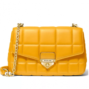 60% Off MICHAEL Michael Kors Soho Quilted Leather Shoulder Bag @ Macy's