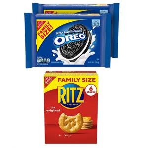 Oreo 奧利奧&Ritz餅幹家庭裝 3包 @ Amazon